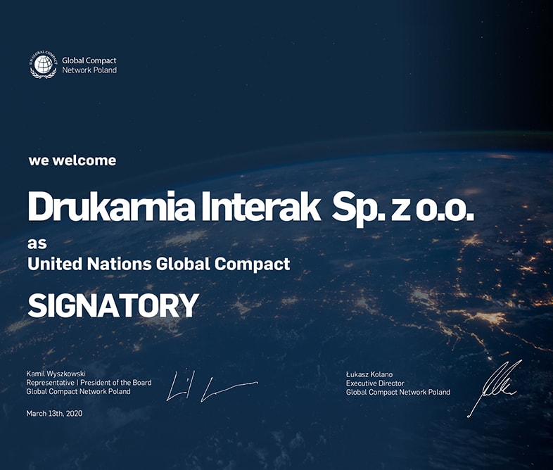 Interak - UNGC Signatory